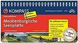 Mecklenburgische Seenplatte: Fahrradführer mit Routenkarten im optimalen Maßstab.: Fietsgids 1:50 000 (KOMPASS-Fahrradführer, Band 6006)