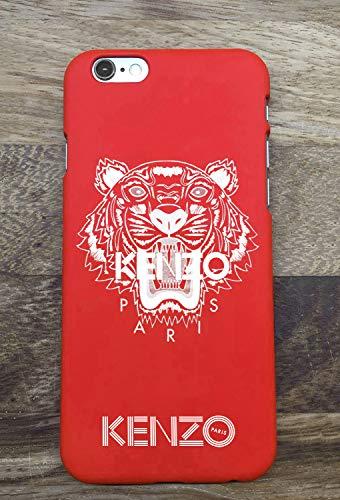 Generic Kenzo iPhone 6 6S Coque, Hard Plastic Phone Housse Coque for iPhone 6 6S Kenzo Paris (Rouge)