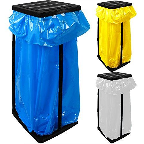 *3x Müllsackständer für Müllsäcke bis max. 60 LITER 3-fach höhenverstellbar – Müllsackhalter Abfallbehälter Müllbeutelhalter*