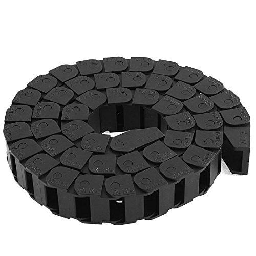 Towline en plastique Noir 20 x 15 x 15 mm-Frein de chaîne : 39 cm