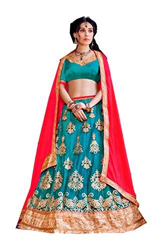 pcc-womens-aqua-blue-striking-lehenga-choli-with-embroidery-work-80366-80366