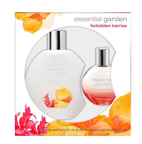 Essential Garden Forbidden Berries EdP (30 ml)+ Bodylotion (200 ml), 1er Pack (1 x 230 ml) - Essential Garden
