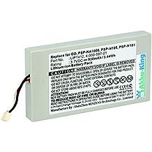 Akku-King batería para Sony PSP GO, PSP-N100, PSP-NA1006 - como 4-000-597-01, LIP1412 - Li-Ion 930mAh