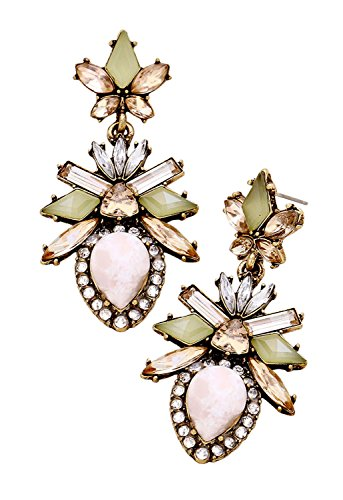 rosemarie-collections-womens-crystal-and-natural-stone-floral-statement-earrings