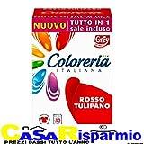 Coloreria Italiana Rosso Tulipano Tutto in 1 Sale Incluso - Rosso Tulipano