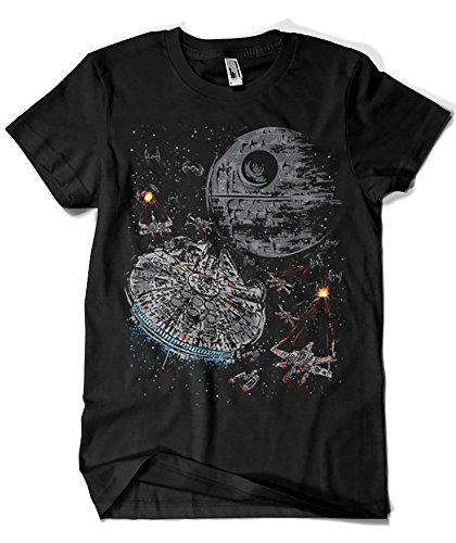 1074-Camiseta Star Wars - The Last Great Battle (Dr.Monekers)