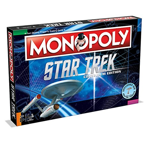 Star Trek Monopoly Continuum Edition Family Board Game