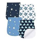 Burp cloths Baby Burp Bibs 100% Cotton Baby Feeding Towel Accessory by YOOFOSS