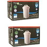 FilterLogic FL601T - 12 unidades - cartucho de filtro compatible con BRITA ® Classic / BWT Anna / Kenwood Universal / Laica Multi-Flux Classic / Aquaphor B100 / Dafi Classic - 102109 - jarra filtrante