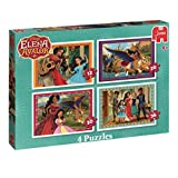 Disney Elena of Avalor 4 Puzzles 14pieza(s) - Rompecabezas (Jigsaw Puzzle, Dibujos, Preescolar, Disney Elena of Avalon, Chica, 4 año(s))