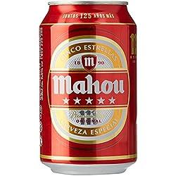 Mahou Cerveza - Paquete de 24 x 330 ml