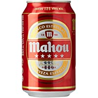 Mahou Cerveza - Paquete de 24 x 330 ml - Total: 7920 ml