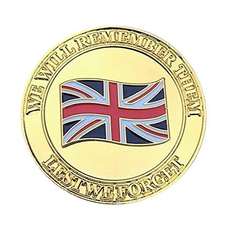 Rare première guerre mondiale anniversaire Commémorative de monnaie Guerre Mondiale