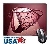 MSD Naturkautschuk Maus Pad/Matte mit genähte Kanten 9,8x 7,9Bild-ID: 3021513ein locker WEGGEWORFEN Tanga auf einem Nachttisch Lampe