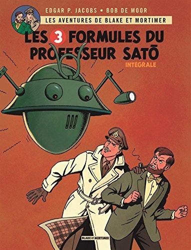 Blake & Mortimer - Intégrales - tome 5 - 3 formules du Professeur Satô (Les) - Intégrale complète