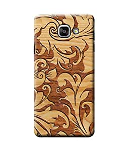 Be Awara Wood Carving Pattern Designer Mobile Phone Case Back Cover For Samsang Galaxy A7 2015 Edition