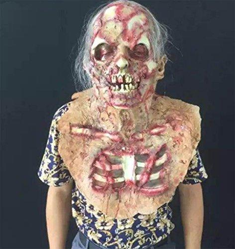 ion Maske Mumie Zombie Mumie Terror Furchtsam lebensecht Geistermaske Millennium Requisiten- Lustige Maske (Kühlen Mumie Kostüm)