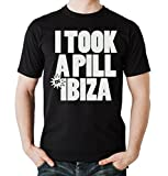 I Took a Pill in Ibiza T-Shirt Negro Certified Freak-M