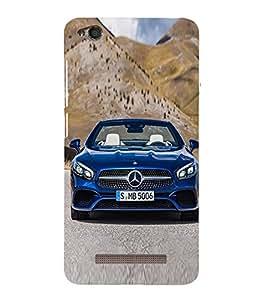 Blue Luxury Car 3D Hard Polycarbonate Designer Back Case Cover for Redmi 4 :: Xiaomi 4