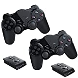 2x Funk Controller für PS2 Playstation 2 Dual Vibration, wireless Gamepad PS 2 kabellos -