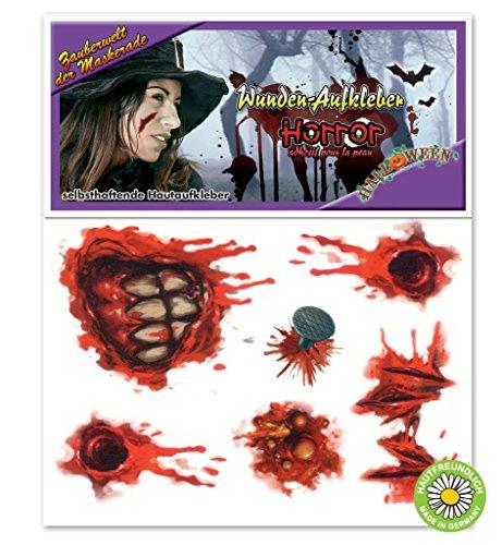 Halloween Hautaufkleber - Der Halloween Michael Junge Myers 2
