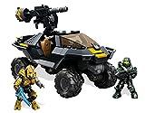 Mattel Mega Bloks CNG66 - Halo - UNSC Attack Gausshog, Bau- und Konstruktionsspielzeug