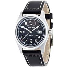 Hamilton H684812 - Reloj , correa de piel de borrego color negro