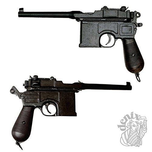 Denix Pistole Mauser C96 – Spielzeugwaffe (Pistole Mauser)