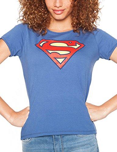 Cache - Cache - Femme - T-Shirt - Manches - Courtes Bleu (True Navy)