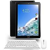 NAQU Tablette Tactile 10 Pouces 4G / WIFI Réseau Android 7.0 Quad Core Double Fentes De Carte SIM Tablettes 3 Go De RAM + 32 Go De ROM, 5,0 MP + 2,0 MP Caméra HD( Bluetoot,GPS, OTG) - Noir