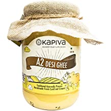 Kapiva A2 Shudh Desi Ghee, Helps Reduces Joint Pain and Improves Heart Functioning - 500ml