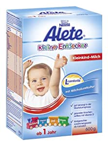 alete kleine entdecker kleinkind milch ab 1 jahr 6er pack 6 x 600 g lebensmittel. Black Bedroom Furniture Sets. Home Design Ideas