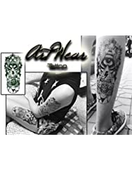 "Tatouage Temporaire ""Eye Totem"" - ArtWear Tattoo Geometry - B0094 M"