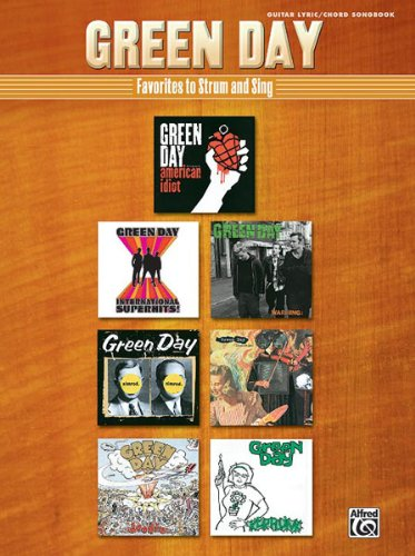 ALFRED PUBLISHING GREEN DAY - FAVOURITES TO STRUM TO - GUITAR TAB Noten Pop, Rock, .... Gitarren Tab (Green Tab Guitar Day)