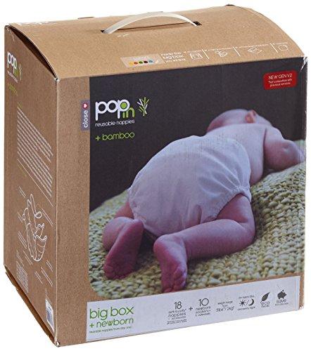 Close Pop-in 327105 Stoffwindeln – Große Box Bamboo Brights Pastel - 2
