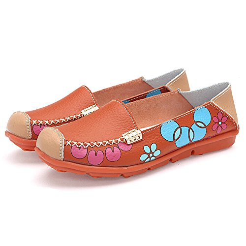 Hattie , Ballerines femme Orange