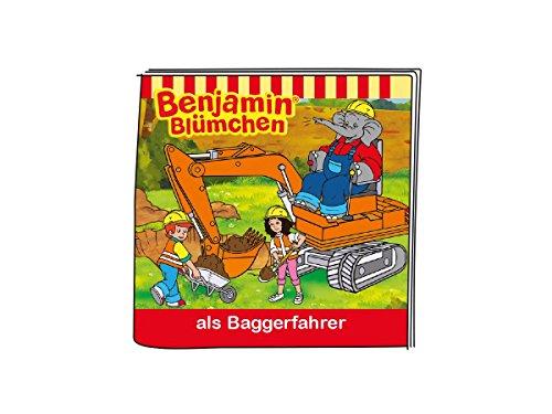 tonies Boxine 11302-1033 Benjamin Blümchen ALS Baggerfahrer, Lernspielzeug