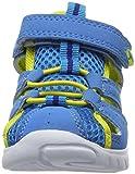 KangaROOS Unisex-Kinder Rock Lite II Geschlossene Sandalen, Blau (Blue/Acid Yellow), 26 EU - 4