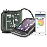 1byone Misuratore di Pressione da Braccio Digitale, Monitor Bluetooth per App...