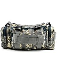 TOOGOO (R) Bolsa de Cintura Militar Tactico para Campamento Senderismo Deportes - Camuflaje