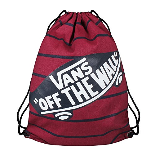 Vans Benched Novelty unisex adulto, zaino, bianco, One size EU Multicolore (Tibetan Red Stripe)
