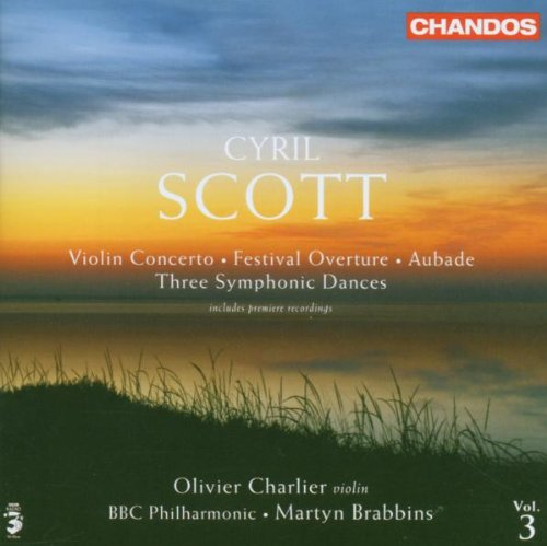 Preisvergleich Produktbild Cyrill Scott: Violinkonzert / Aubade / Festival Ouverture / Three Symphonic Dances