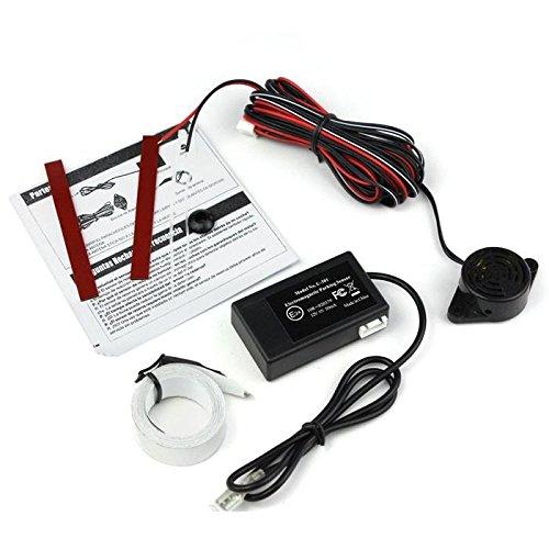 takestop® Sensor-Einparkhilfe Elektromagnetisches U301System Radar Assistent Signalhorn Auto erlebt Abstand nicht Loch
