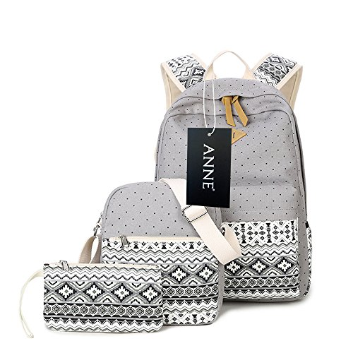 Anne - Borsa a Zainetto Donna Grey
