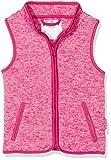 Playshoes Baby-Mädchen Strickfleece-Weste mit Kontrastnähten, Oeko-Tex Standard 100 Rosa (Pink 18), 86