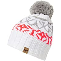 Helly Hansen W Mujer Powder Beanie, White, One Size