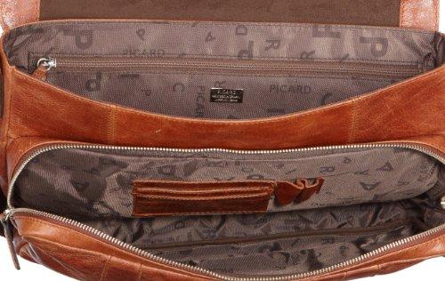 Picard Buddy Briefcase With Two Verschlssen 37 Cm, schwarz Brun/cognac