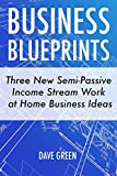 Business Blueprints: Three New Semi-Passive Income Stream Work at Home Business Ideas