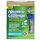 GoodSense Mini Nicotine Polacrilex Lozen...