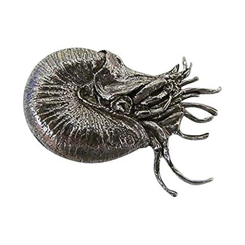 En étain ~ Nautilus Shell ~ Pin's (épinglette/Broche ~ A164